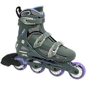 Roller Derby Women's Adjustable Inline Skate, Large