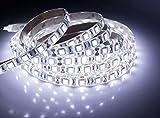 Quntis® Wasserdichte LED Band 5M Kaltweiß 5050 SMD hohe Dichte