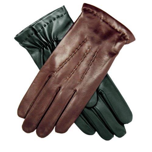 Men's Italian Lambskin Cashmere Lined Winter Leather Gloves