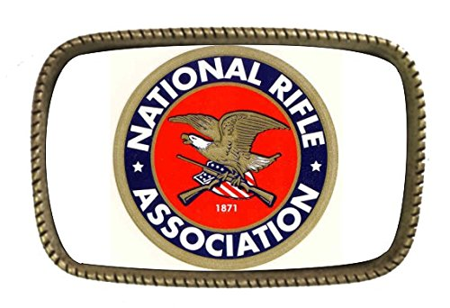 Nra Brass Belt Buckle Made In USA (Nra Belt Buckle compare prices)