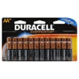 Duracell Coppertop Alkaline Batteries, AA, 24 batteries