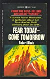 Fear Today-gone Tomorrow (0426008111) by Robert Bloch