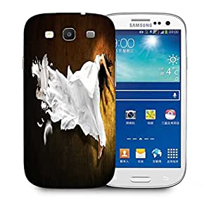 Snoogg Feather Dress Designer Protective Phone Back Case Cover For Samsung Galaxy S3