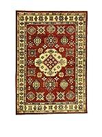 L'Eden del Tappeto Alfombra Uzebekistan Rojo / Crema 250  x  173 cm