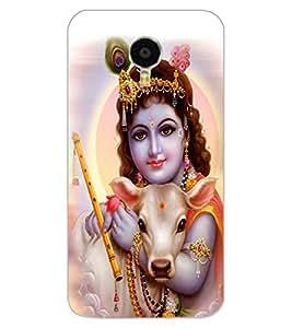 ColourCraft Lord Bal Gopal Design Back Case Cover for MEIZU M3 NOTE