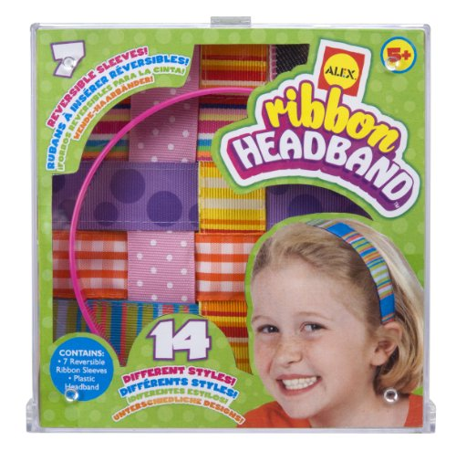 ALEX Toys Do-it-Yourself Wear Ribbon Headbands