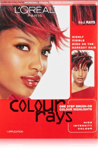 L'Oreal Paris Colour Rays Hair Color, Red Rays (Loreal Red Dye For Dark Hair compare prices)