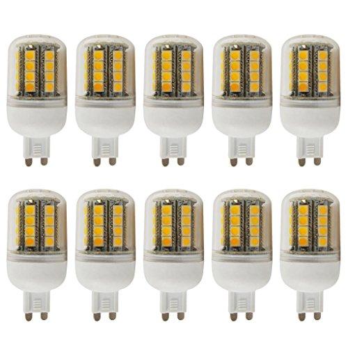 10Pcs 4W G9 Led Light 5050 Smd Ultra Bright Lamp Bulb Warm White 200-260V