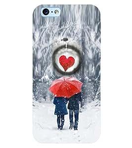 PRINTSWAG I LOVE U COUPLE Designer Back Cover Case for APPLE IPHONE 6