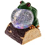 Frog Light-Up Water Globe