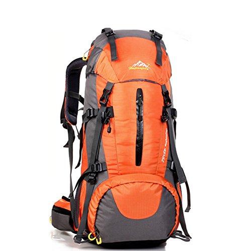 Grand voyage de capacité sac / alpinisme sacs / sac à dos en plein air / sac de sport imperméables-Orange 50L