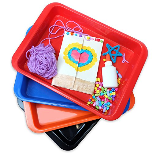 Set-of-4-Arts-and-Crafts-multi-purpose-medium-organizer-tray-great-for-crafting-beading-painting-sorting-blocks-montessori-preschooler-and-kids-activities-table-MEDIUM