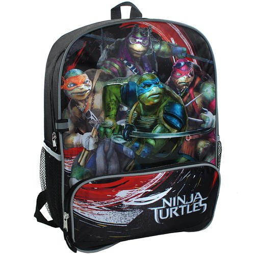 Teenage Mutant Ninja Turtles Movie Backpack Black/Red