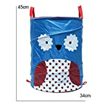 34x45cm Foldable Laundry Storage Basket Bathroom Cartoon Clothes Pants Bag (Pattern: 001)