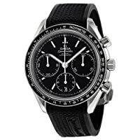 Omega Speedmaster Racing Automatic Chronograph Black Dial Stainless Steel Mens Watch 32632405001001 from Omega