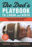 img - for The Dad's Playbook to Labor & Birth: A Practical and Strategic Guide to Preparing for the Big Day by Halvorsen, Theresa, Halvorsen, Brad (2012) Paperback book / textbook / text book
