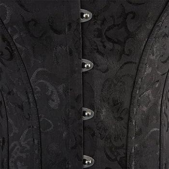 Women Lace Boned Corset Lingerie for Waist training Bustier Clubwear Plus Size