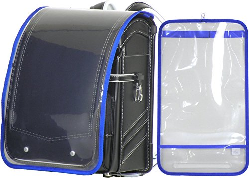 Transparent bag cover made in Japan «blue» for A4 book file (clear file) bags