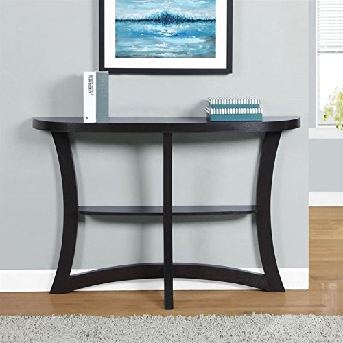 Monarch Two Tier Hall Console Accent Table, 47