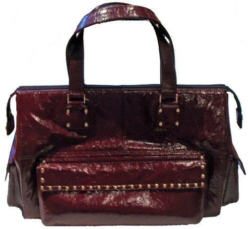 Junior Drake Nikko Gold Stud Purse (Red)