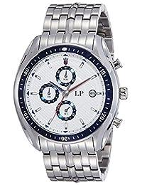LP Louis Philippe Chrono Sport Chronograph White Dial Men's Watch - LYAG515033