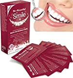 28 Teeth Whitening Strips, Zero Peroxide & Chlorite, Enamel Safe, Mint Flavoured Whitening Strips, Easy to Use Rapid 15 Minute Treatment, Whitens & Shines Teeth, Refreshes Breath & Kills Oral Bacteria, Dissolvable No Messy Residue, Be-Beautiful-Smile BEST UK MADE-5 STAR Strips, Safe Pharmaceutical Grade Proven by Consumer Trials | TWO DAY OFFER ONLY £7.55 FOR 28 STRIPS | FREE UK DELIVERY