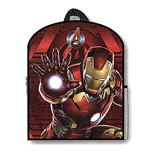 "Marvel Comics Avengers: Age Of Ultron Avengers Iron Man (3-D) 16"" X 13"" Backpack"