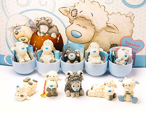 [RusToyShop] 6psc random Tatty Teddy & my Blue
