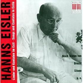 Eisler: Vocal Music
