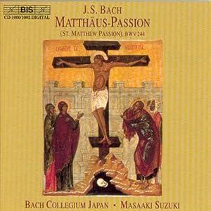 Bach : Matthäus-Passion (St. Matthew passion)BWV 244