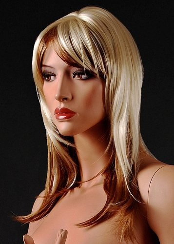 Brand New Dirty Blonde Female Wig Synthetic Hair For Ladies Personal Use Or Mannequin Display