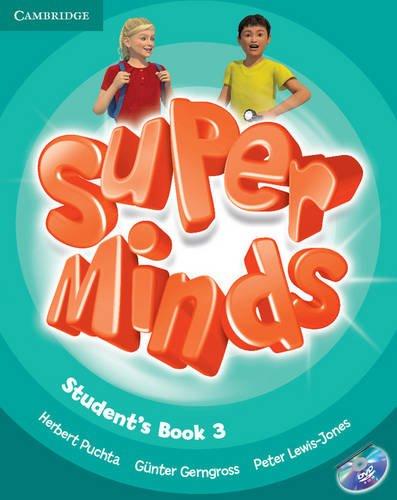 Super minds. Student's book. Con espansione online. Per la Scuola elementare. Con DVD-ROM: Super Minds  3 Student's Book with DVD-ROM