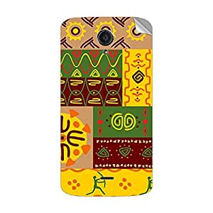 Garmor Designer Mobile Skin Sticker For XOLO OMEGA 5.5 - Mobile Sticker