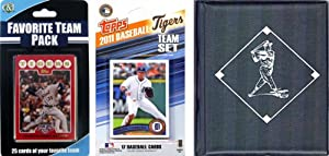 MLB Detroit Tigers Licensed 2011 Topps Team Set and Favorite Player Trading Cards... by C&I Collectables