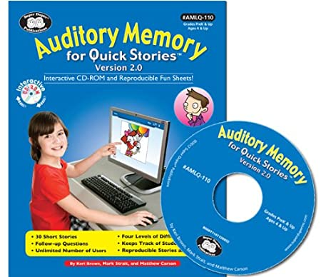 Auditory Memory - Listening for Quick Stories Software - Super Duper Educational Learning Games for Kids