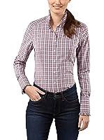 Vincenzo Boretti Camisa Mujer (Rosa / Antracita)