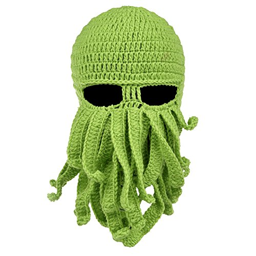 Vbiger-Beard-Hat-Beanie-Hat-Knit-Hat-Winter-Warm-Octopus-Hat-Windproof-Funny-for-Men-Women