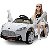 Duplay 12v Maserati Style Kids Electric Ride On Car with TWIN MOTOR UPGRADE and 4 way parental remote control