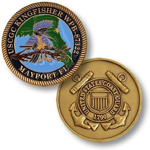 Coast Guard Cutter Kingfisher Challenge Coin