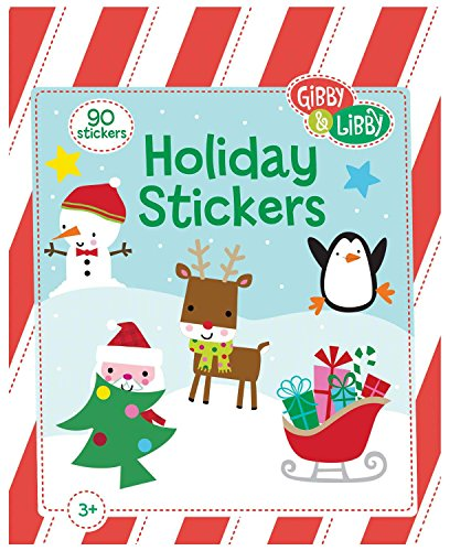 C.R. Gibson Gibby and Libby Holiday Sticker Pad - 1