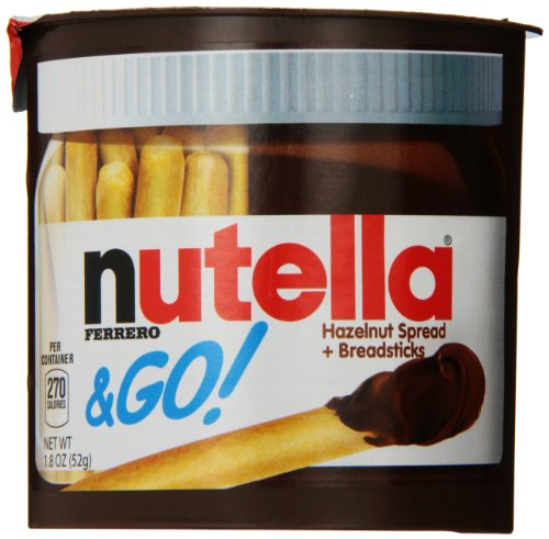 Nutella & Go, 48 Count
