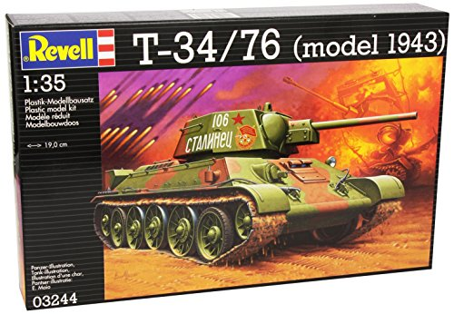 Revell-03244-Modellbausatz-T-3476-im-Mastab-135