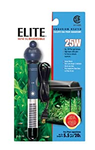 Elite Submersible Preset Heater Mini, 25-Watt