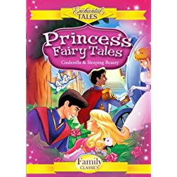 Princess Fairy Tales (2 Disc Set) - Cinderella, Sleeping Beauty