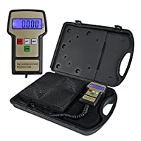 Zeny® Portable 220lb Slimline Refrigerant Electronic Charging/recover Scale from Zeny