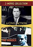 A Civil Action/The Insider (Region 1) (NTSC) [DVD] [US Import]