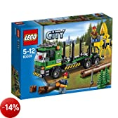 LEGO City Great Vehicles 60059 - Trasportatore di Tronchi