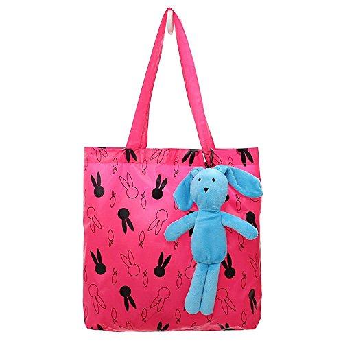 Custodia/borsa da spiaggia Wewod Shopping-Borsa/Tessuto viaggio-custodia/borsa per la spesa---Portable altbare // ECO, Tela, Azzurro, 42*16.5*32 cm