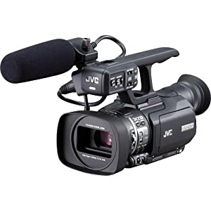 JVC GYHM100U Camcorder with 10x Optical Zoom and 2.8-Inch LCD Screen - Black