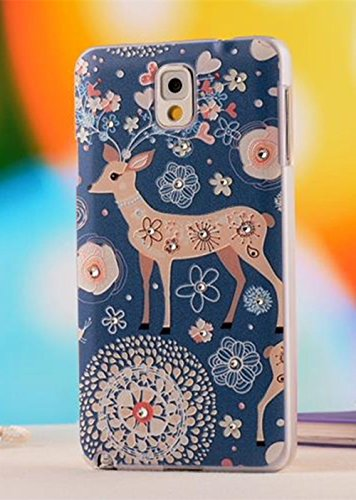 Nancy'S Shop Colorful Painting 3D Hard Cell Phone Accessories Case And Covers For Unlocked Tmobile Samsung Galaxy Note 3 Iii (A Little Deer)
